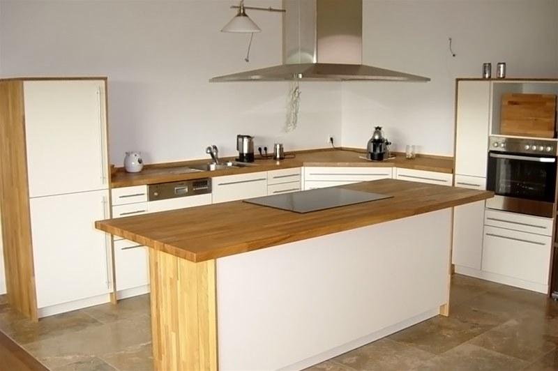 Massivholz Küche mit nett design für ihr haus design ideen